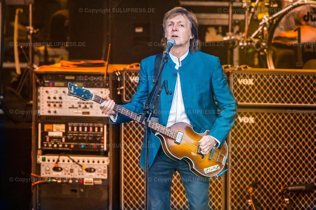 Paul McCartney live in Berlin 2016   Europa, Deutschland, Berlin, 14. Juni 2016 - Paul McCartney live und Open Air bei der