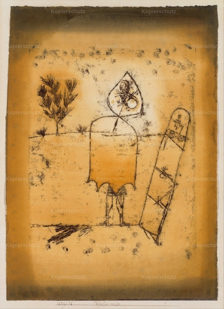 Klee_ Paul (1879-1940) - Winter Journey 1921