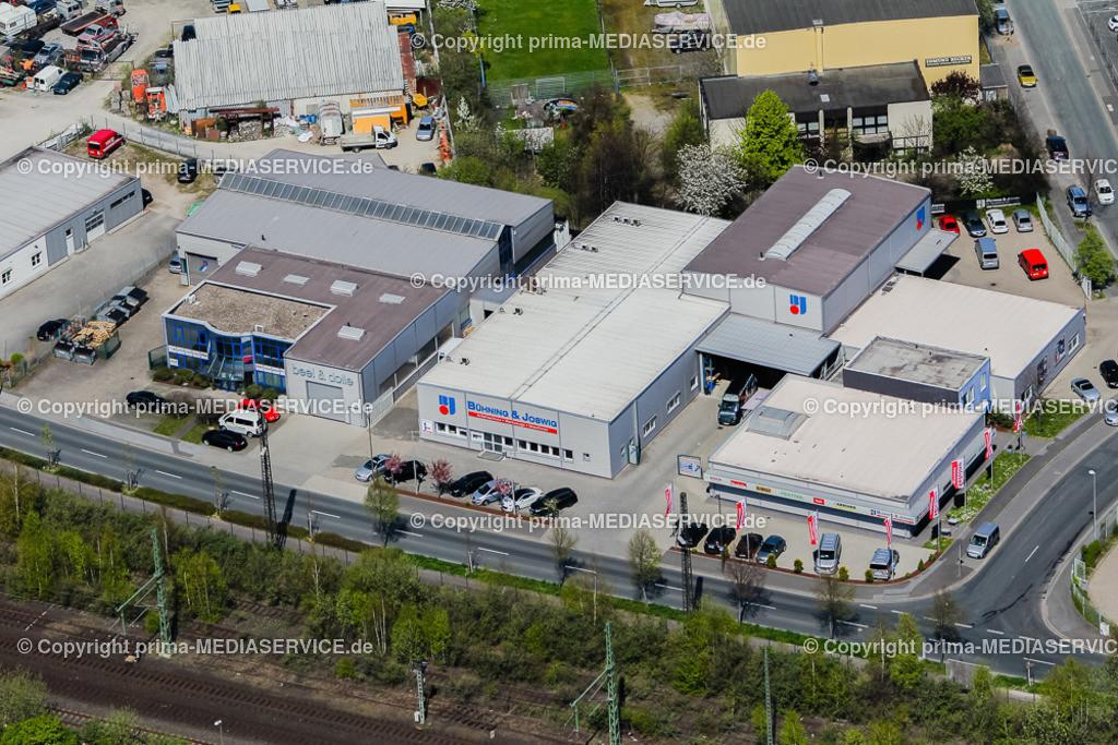 IMGL1783   Luftbild Bühning & Joswig GmbH 21.04.2015 in Dortmund (Nordrhein-Westfalen, Deutschland).  Foto: Michael Printz / PHOTOZEPPELIN.COM