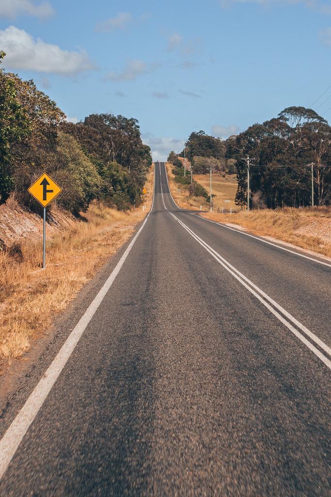 Straße in Australien | Straße in Australien