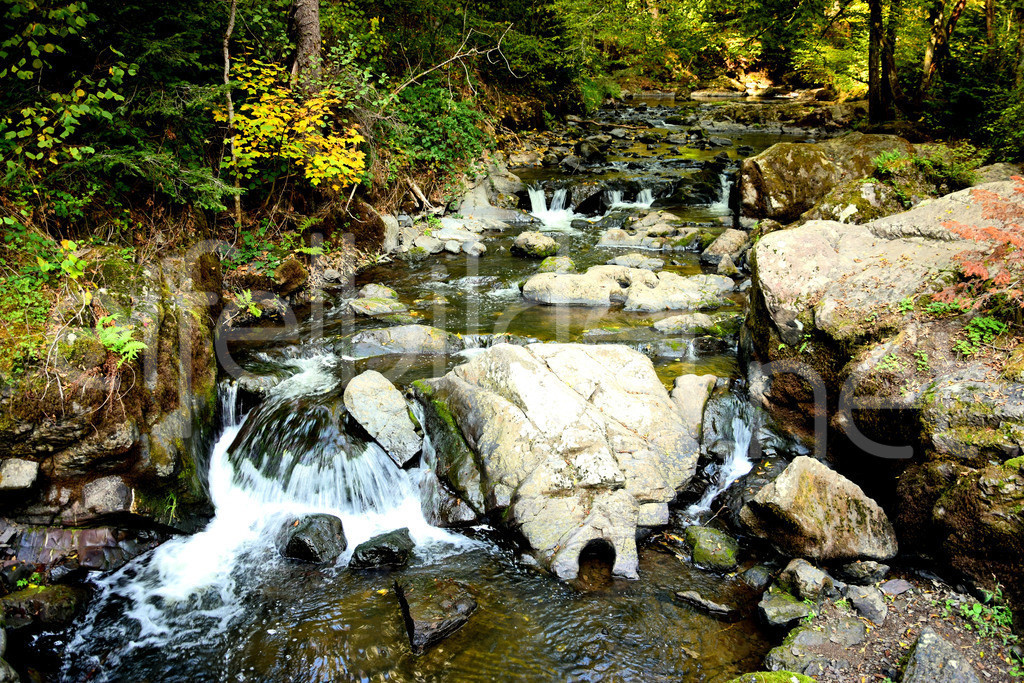 Wasserfall in der Wolfsschlucht | fotografiert bei Manderscheid in der Eifel (Vulkaneifel)