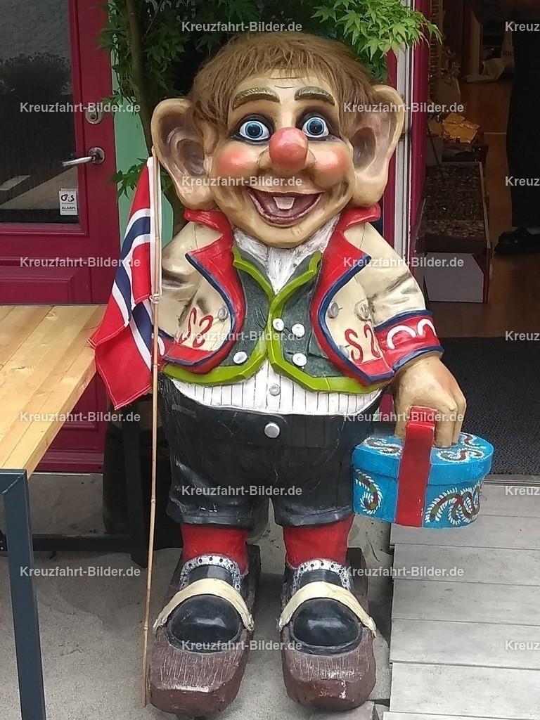 Troll in Stavanger II | Ein Troll in Stavanger