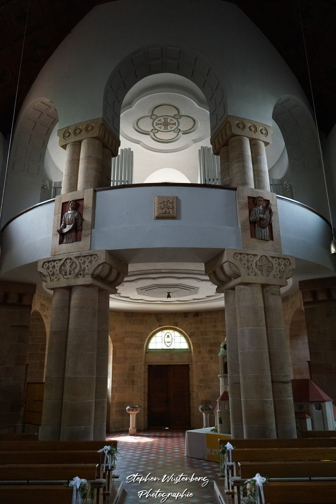 DSC04733 | Innenaufnahmen der kath. Pfarrkirche St.Sebstian in Rockenhausen
