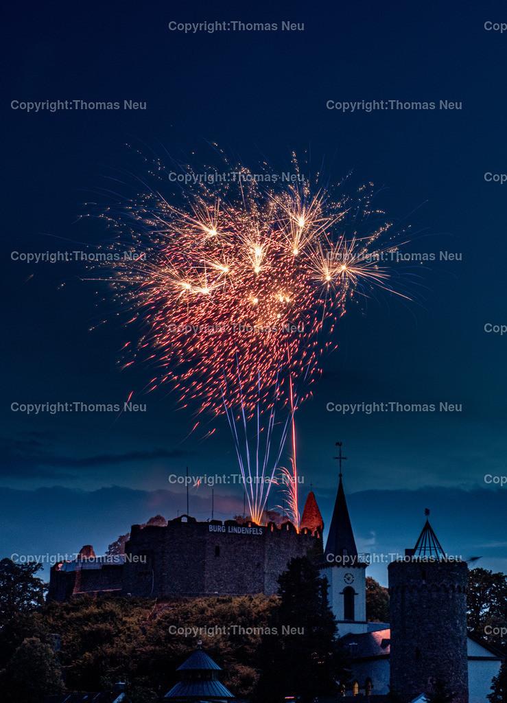 DSC_8562 | Lindenfels, Burgfest Startschuss mit Lampionumzug und Feuerwerk, ,, Bild: Thomas Neu