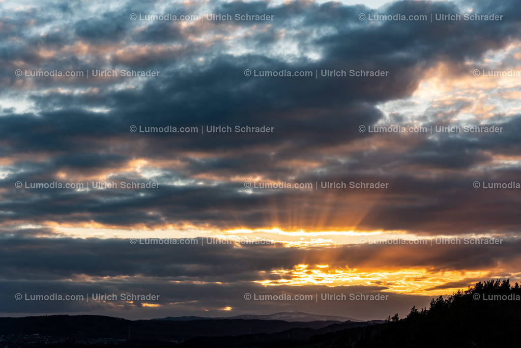 10049-10314 - Sonnenuntergang über dem Brocken
