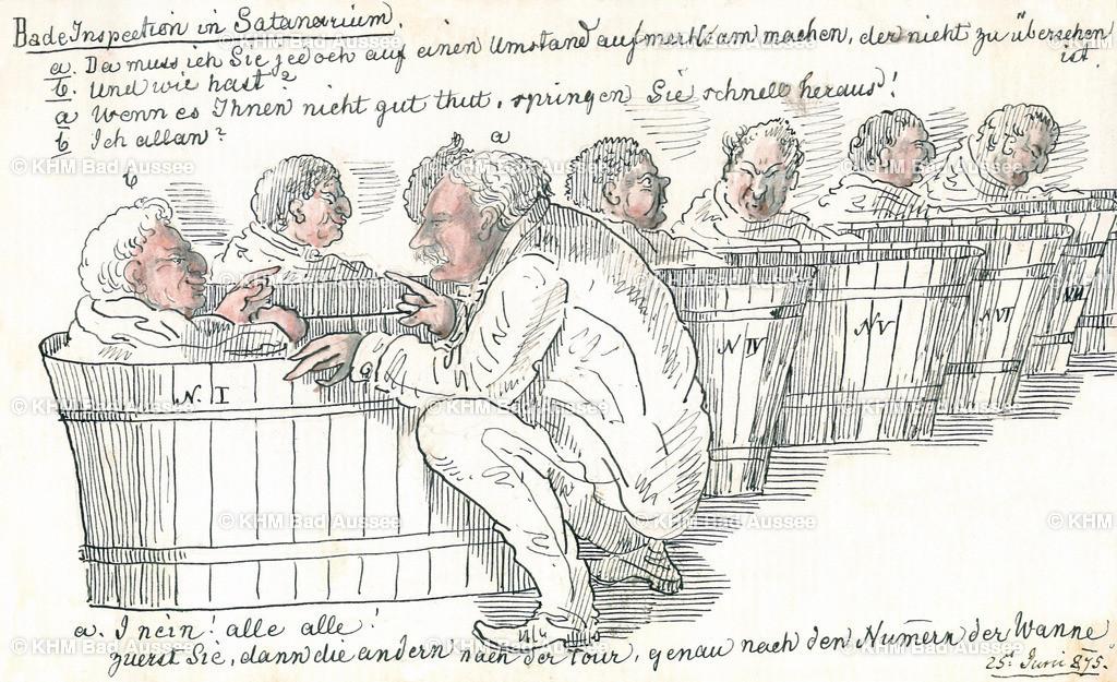 Ritter_B18 | Badeinspektion im Sanatorium