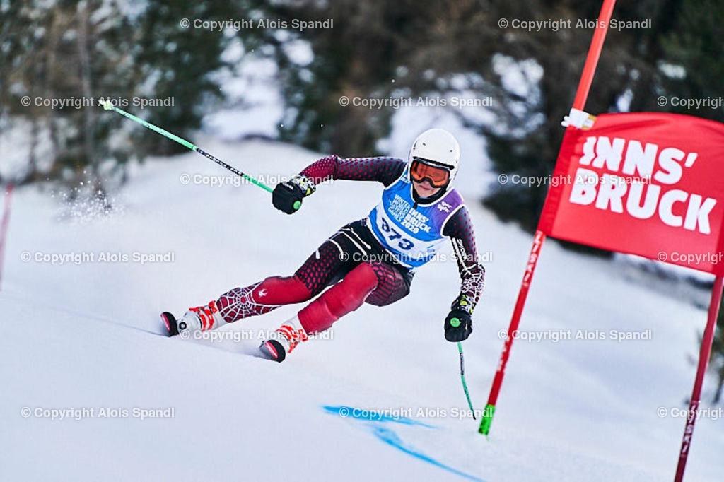 ALS5526_WWMG_GS-II_C | (C) FotoLois.com, Alois Spandl, WinterWorldMastersGames 2020 Innsbruck, Giant Slalom-II Gruppe C Damen, Patscherkofel Olympiaabfahrt, Mi 15. Jänner 2020.