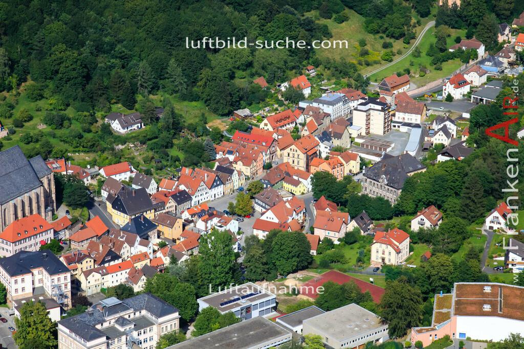 obere-stadt-kulmbach-2009-09 | Luftbild von Obere-stadt Kulmbach - Luftaufnahme wurde 2009 von https://frankenair.de mittels Flugzeug (keine Drohne) erstellt - die Geschenkidee