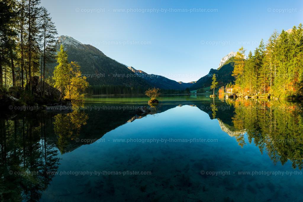Hintersee Herbst Spiegelung