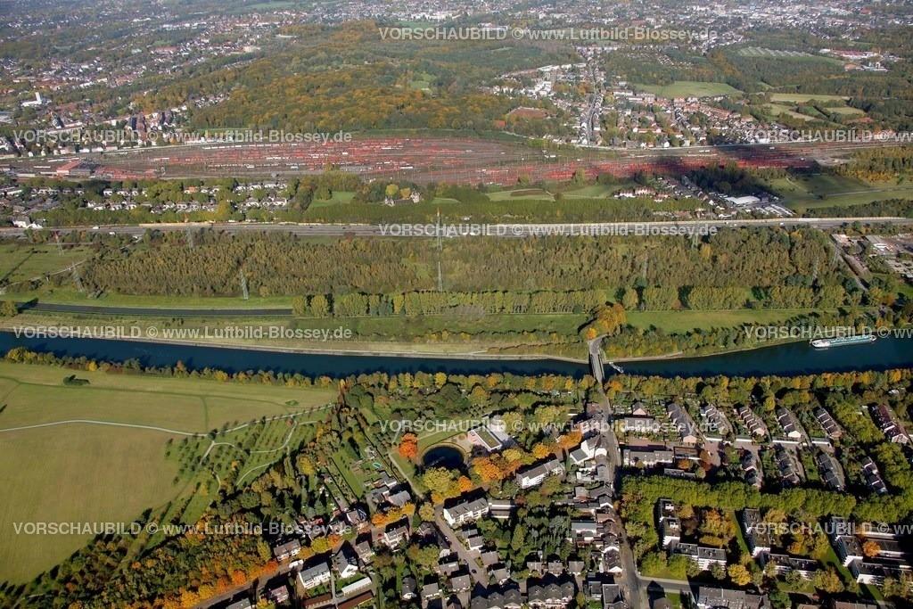 ES10103781 |  Essen, Emscher 160 Kläranlage Läppkes Mühlenbach Ruhrgebiet, Nordrhein-Westfalen, Germany, Europa