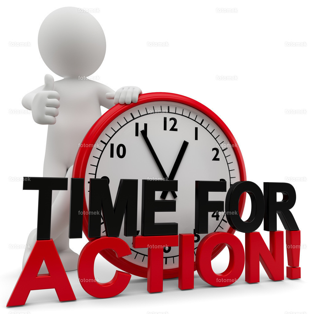 3d Männchen time for Action | 3d Männchen Time for Action