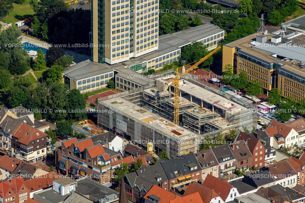 Luenen15071900 | Blick auf den Stadtkern von Lünen mit dem Umbau des Hertie-Hauses, Lünen, Ruhrgebiet, Nordrhein-Westfalen, Deutschland