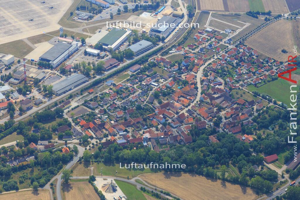 illesheim-2015-2575 | Luftbild von  Illesheim - Luftaufnahme wurde 2015 von https://frankenair.de mittels Flugzeug (keine Drohne) erstellt - die Geschenkidee