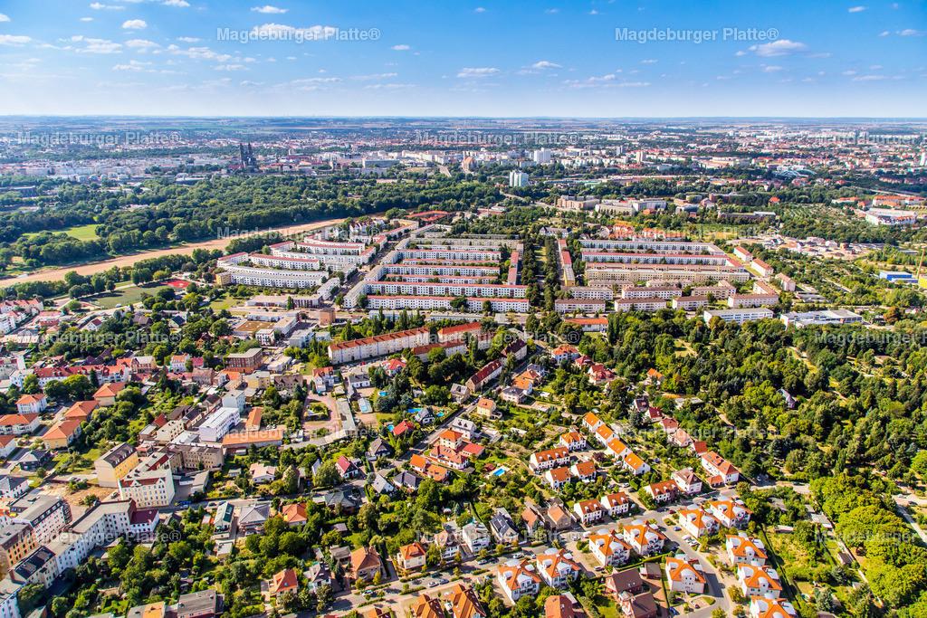 Luftbild Magdeburg Cracau 2013-4845 | Luftbilder aus der Vogelperspektive von MAGDEBURG ... mit Drohne oder von oben fotografiert für die Bilddatenbank der Luftbildfotografie von Sachsen - Anhalt.
