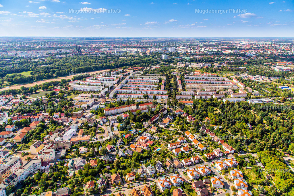 Luftbild Magdeburg Cracau 2013-4845