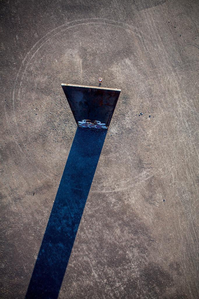 JT-130906-006 | Schurenbachhalde, Kunstwerk des britischen Kuenstlers Richard Serra,