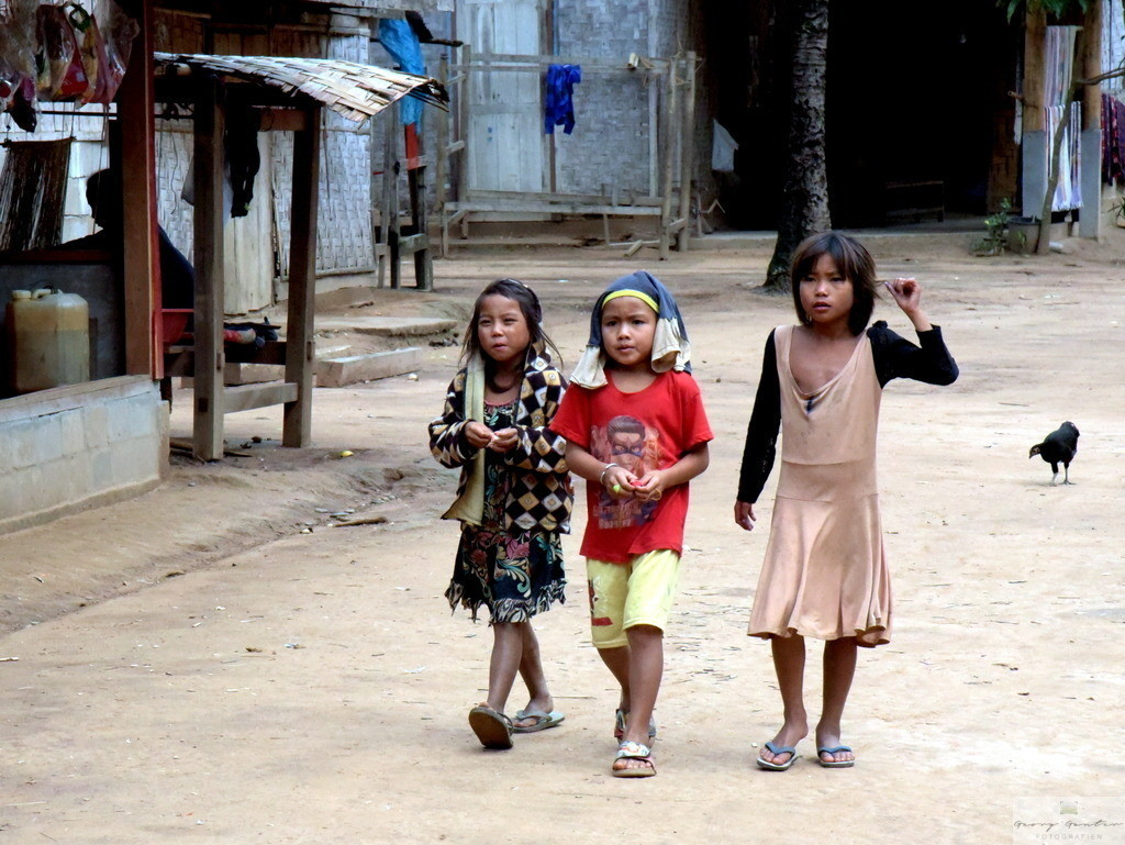 Morgenbummel in Nam Ou - Laos