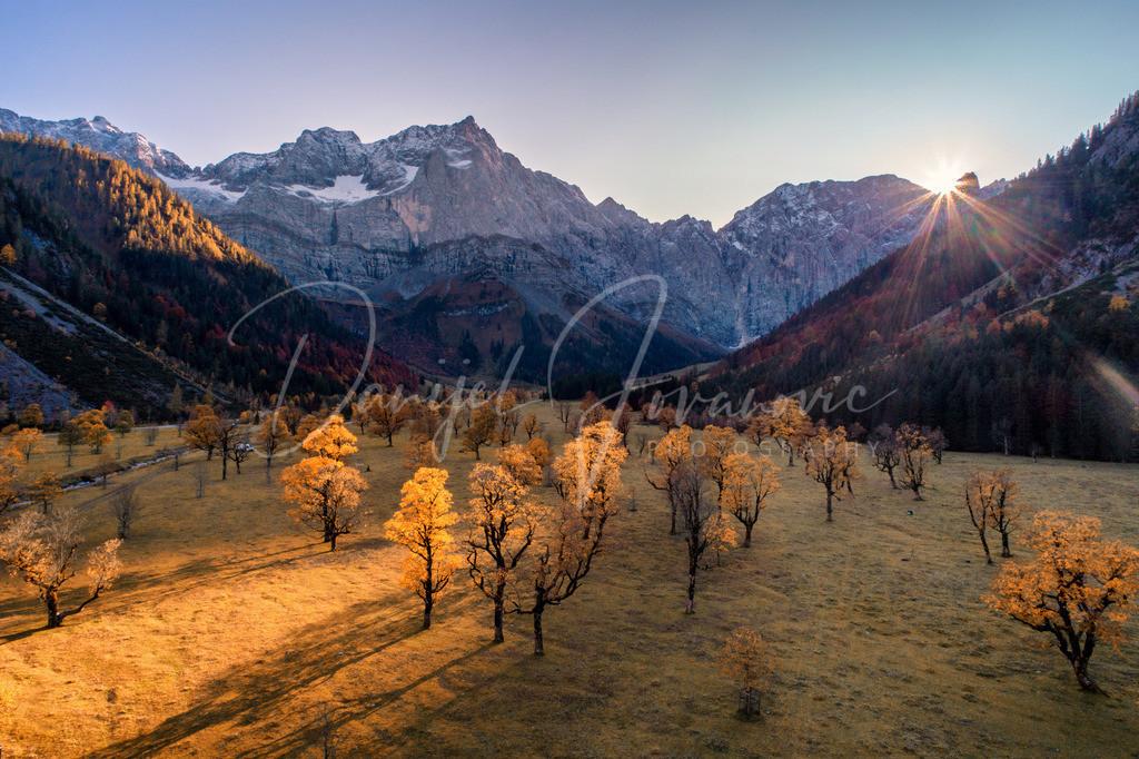 Karwendel | Sonnenuntergang in der Eng