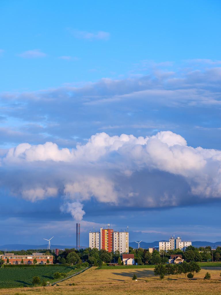 Wolken über Baumheide | Wolken über Bielefeld-Baumheide an einem Abend im July.