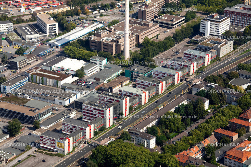 ES10095598 | Luftbild, ETEC Essen an der A40, Technologiezentrum Essen,  Essen, Ruhrgebiet, Nordrhein-Westfalen, Germany, Europa, Foto: hans@blossey.eu, 11.09.2010