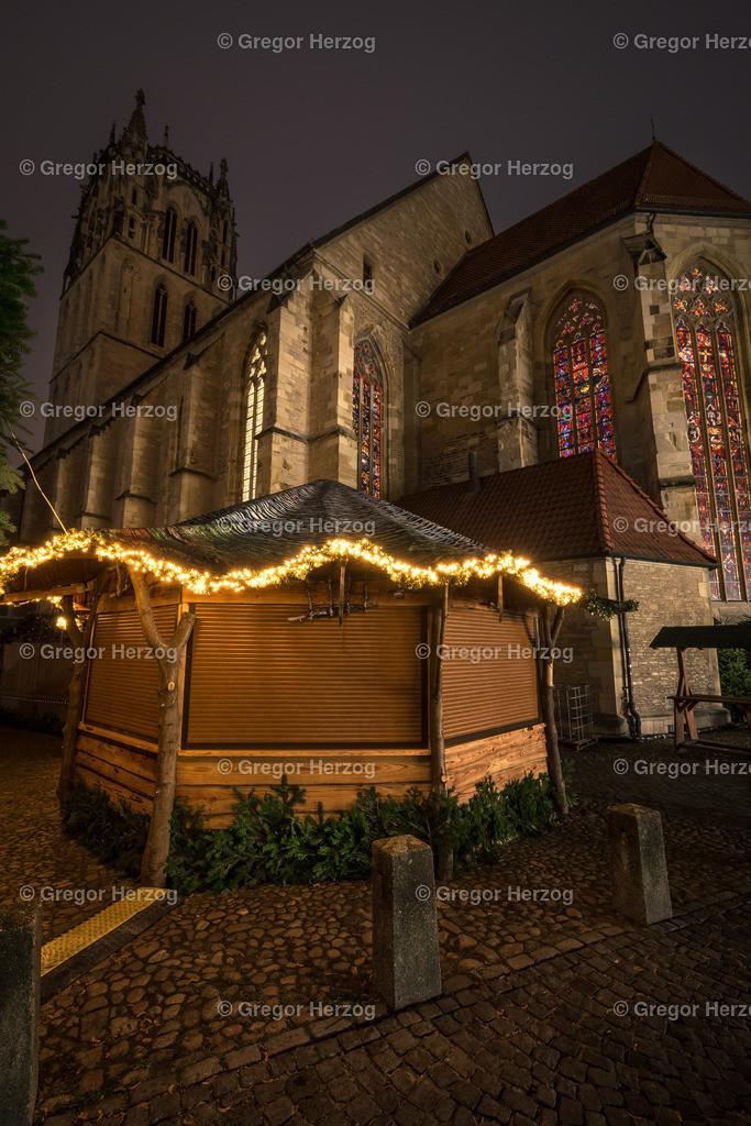 Weihnachtsmarkt Überwasserkirche | Einen Tag vor der Eröffnung des Weihnachtsmarktes 2018