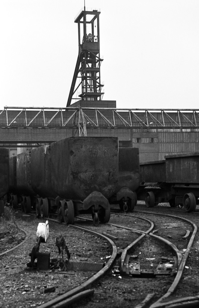 JT-19871214-032 | Essen, NRW, Deutschland,14.12.1987, Zeche Zollverein, ein Jahr nach der Schließung.