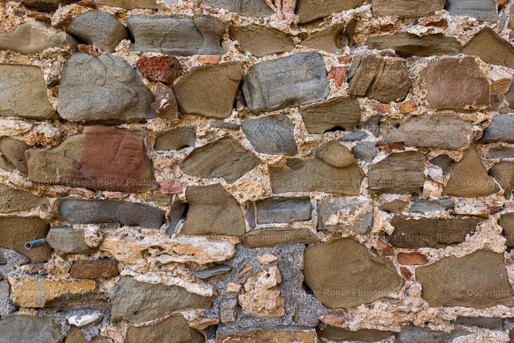 Textur Steinmauer farbige Steine   Textur / Struktur für Fotografen und Grafikdesigner, zum weiterverarbeiten