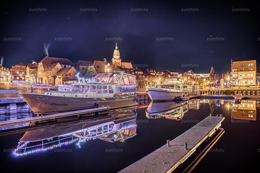 191228_1759-5887_AuroraHDR2019-edit_2 | Heute habe ich für euch mal wieder ein Foto vom Warener Stadthafen.