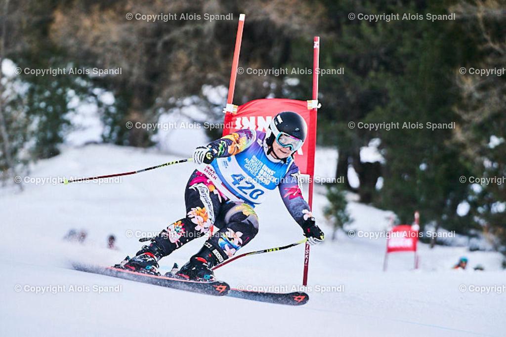 ALS5787_WWMG_GS-II_C | (C) FotoLois.com, Alois Spandl, WinterWorldMastersGames 2020 Innsbruck, Giant Slalom-II Gruppe C Damen, Patscherkofel Olympiaabfahrt, Mi 15. Jänner 2020.