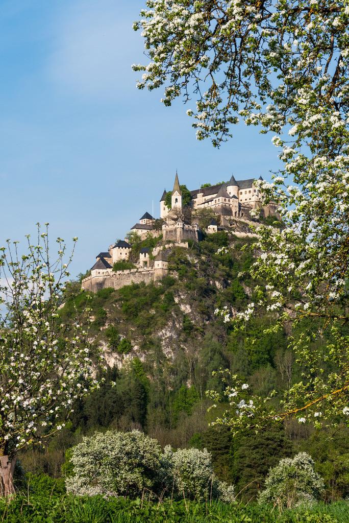 Burg Hochosterwitz   Aufnahme der Burg Hochosterwitz bei St. Veit