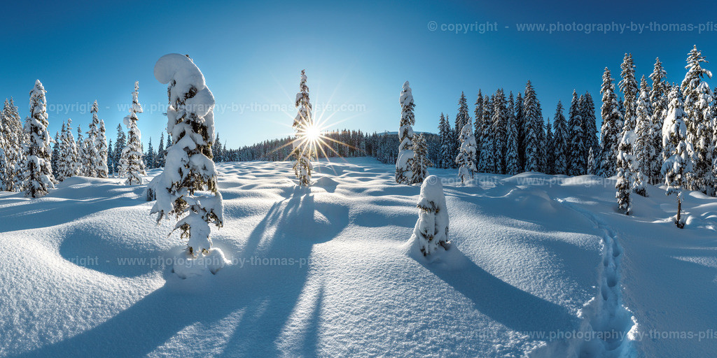 Winterlandschaft auf der Gerlosplatte-1