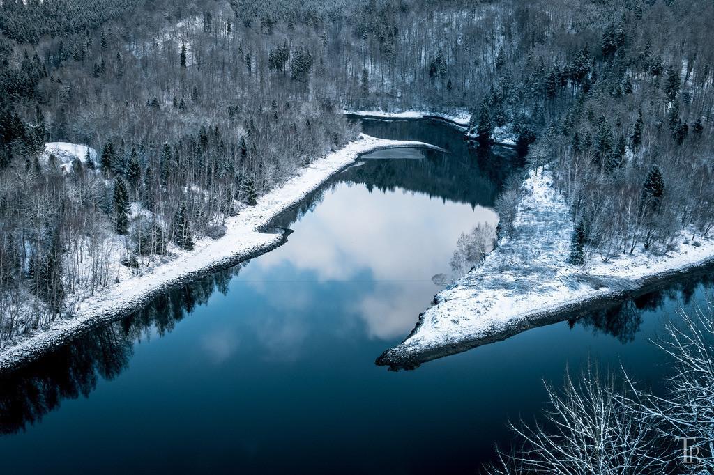 Bode im winterlichen Harz