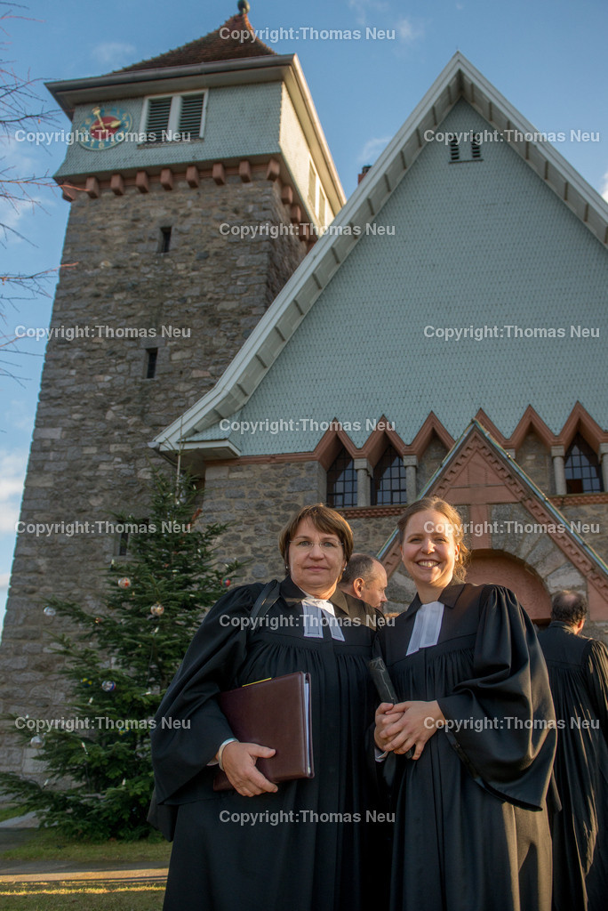 Pfarrerin-4 | Lautertal, Gadernheim, Ordination Marion Muehlmeier, hier mit Proebstin Karin Held, Bild: Thomas Neu