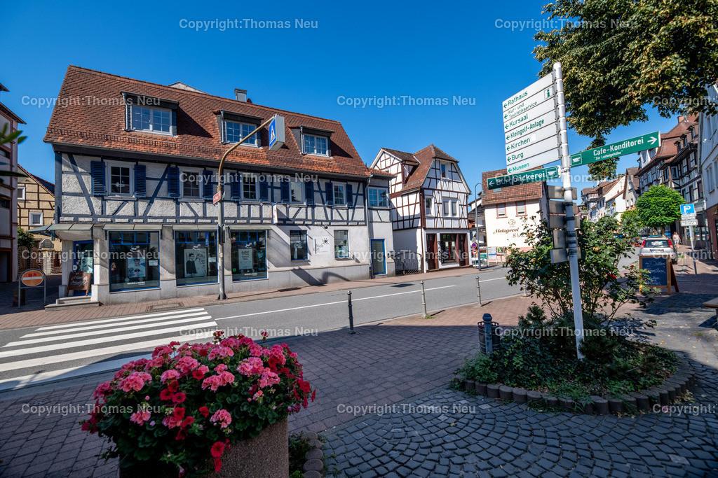 DSC_1854-HDR | Lindenfels, ,Nibelungenstraße, Architektur, Bebauung,  Am Dalles, Beschilderung, Hinweisschilder, Fachwerk, , Bild: Thomas Neu