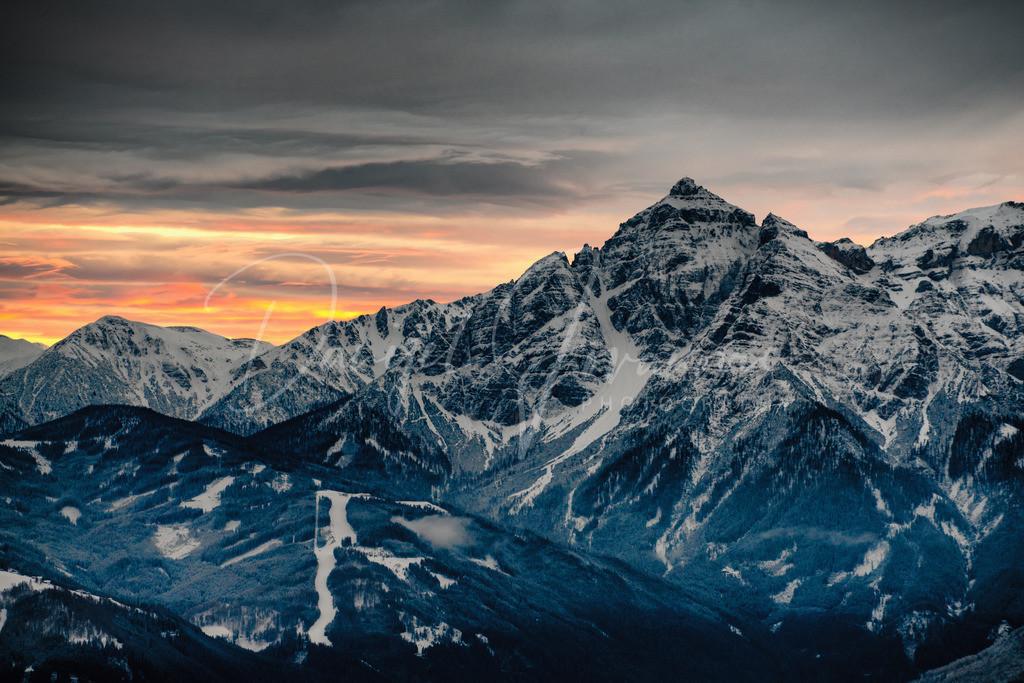 Serles | Königliche Serles nach dem Sonnenuntergang