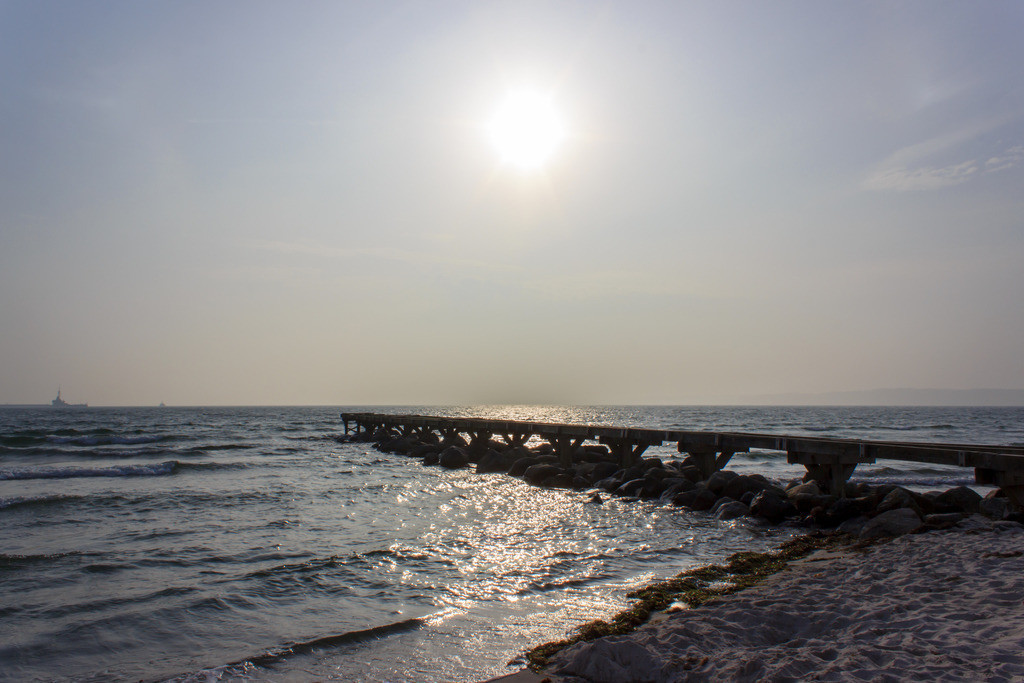 Strand in Eckernförde | Sonnenschein am Strand in Eckernförde