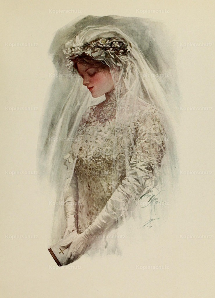 Fisher_ Harrison (1875-1934) - Fair Americans 1911 - The Bride