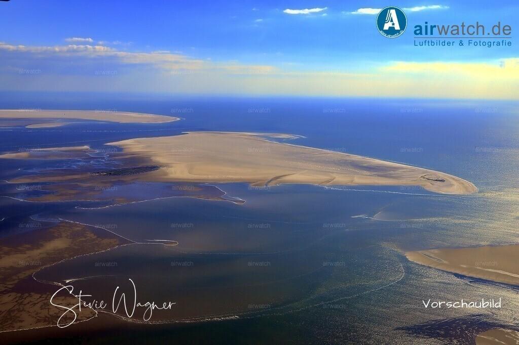 Luftbilder Sandbänke Norderoogsand