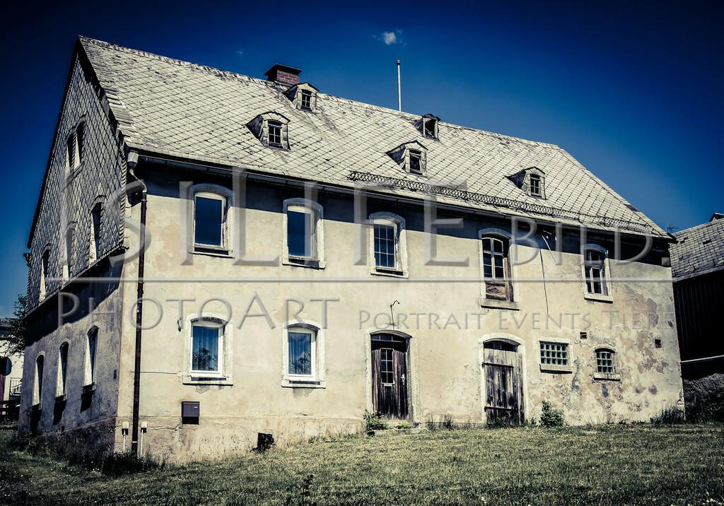Röslau - Mittelpunkt des Fichtelgebirges | Altes Bauernhaus am Dorfberg