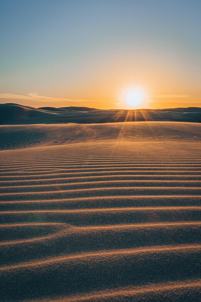 Sanddünen Worimi National Park  | Sanddünen im Worimi National Park