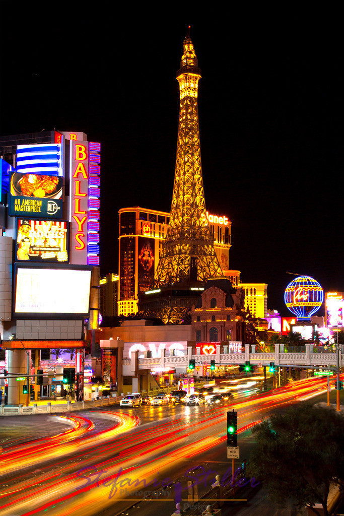 Las Vegas nächtliche Straßen   Lights of Las Vegas