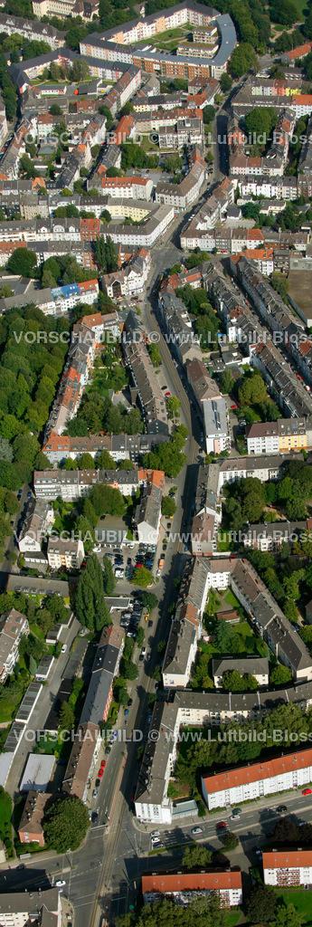 ES10094253a | Frohnhauseer Strasse, Luftbild,  Essen, Ruhrgebiet, Nordrhein-Westfalen, Germany, Europa, Foto: hans@blossey.eu, 05.09.2010