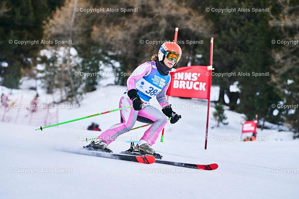 ALS5604_WWMG_GS-II_C   (C) FotoLois.com, Alois Spandl, WinterWorldMastersGames 2020 Innsbruck, Giant Slalom-II Gruppe C Damen, Patscherkofel Olympiaabfahrt, Mi 15. Jänner 2020.