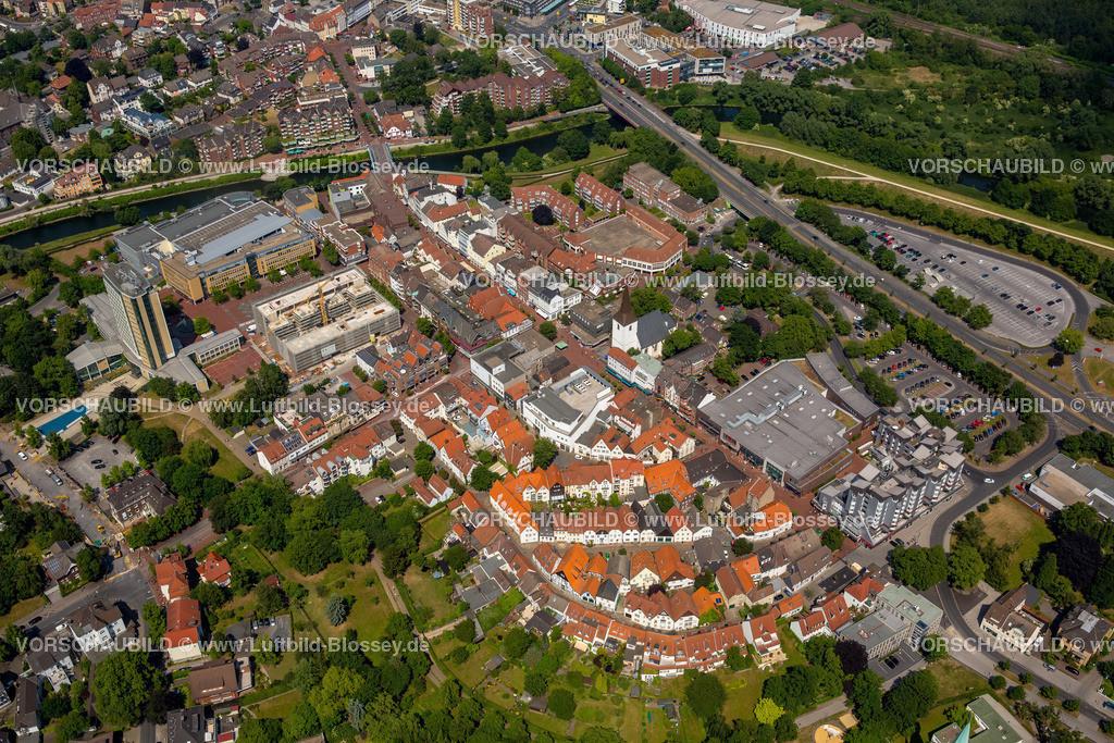 Luenen15064038 | Blick auf den Stadtkern von Lünen mit dem Umbau des Hertie-Hauses, Lünen, Ruhrgebiet, Nordrhein-Westfalen, Deutschland