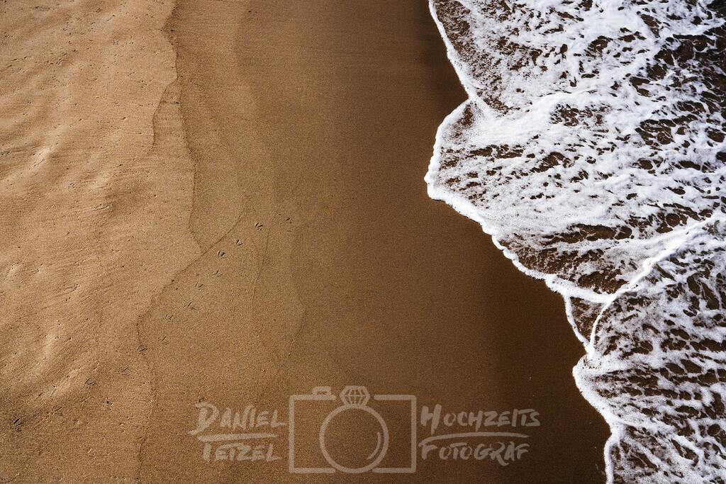 Strand und Meer | Feiner Sandstrand mit schaumigem Meerwasser