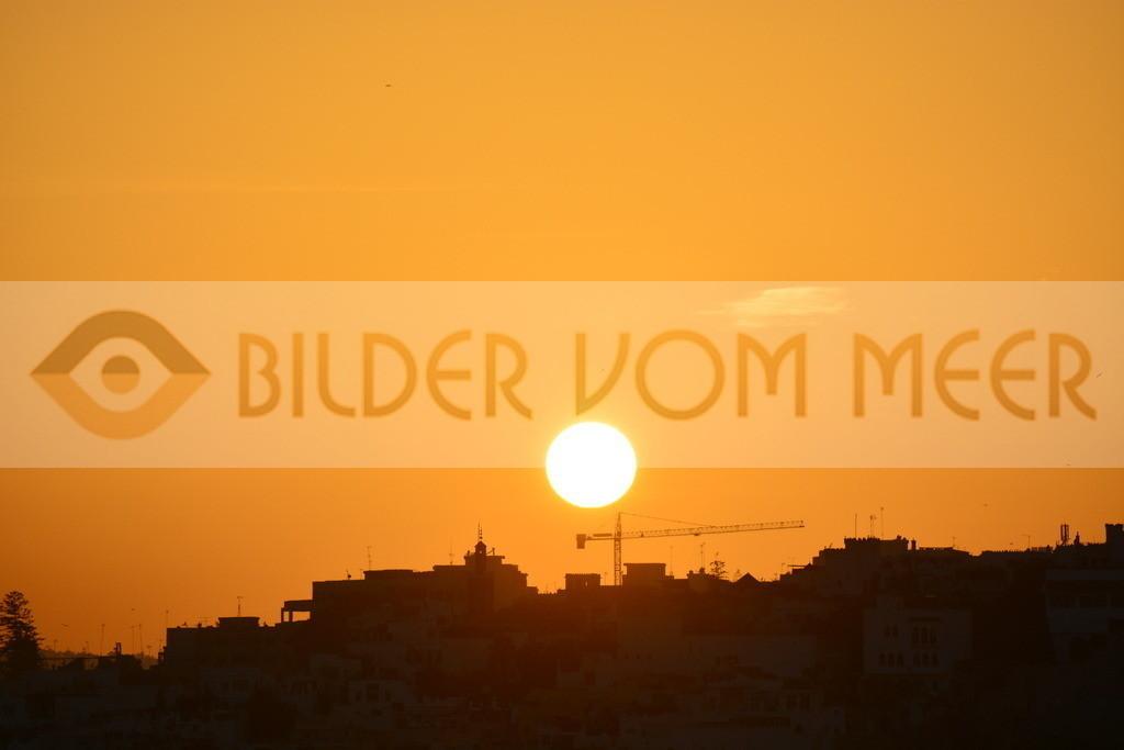 Bilder Sonnenuntergang vom Meer | Bilder Sonnenuntergang bei Tanger