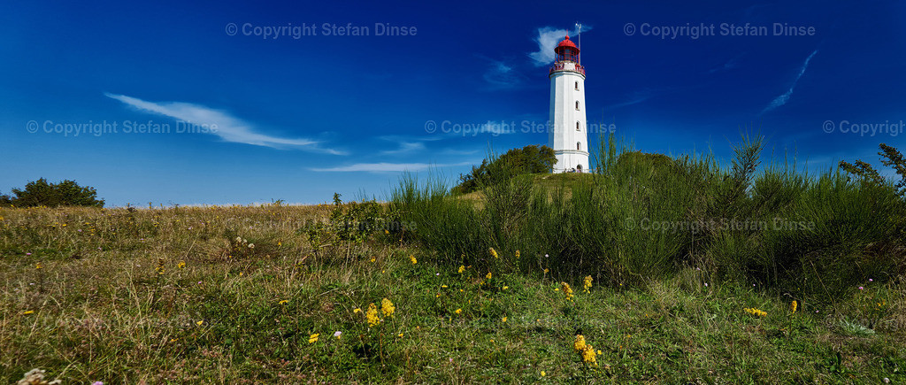 lighthouse Dornbusch on Isle Hiddensee | lighthouse Dornbusch on Isle Hiddensee