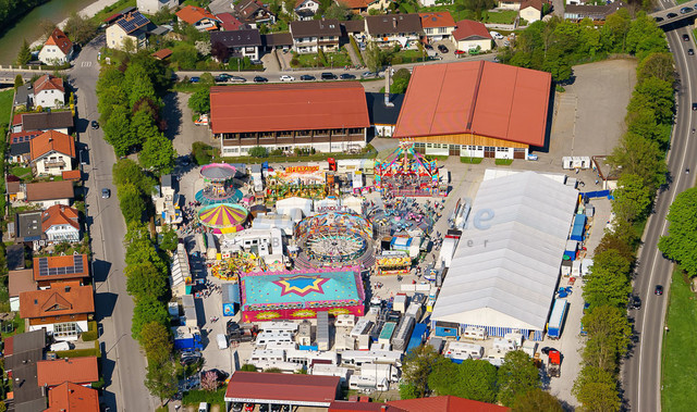 luftbild-traunstein-fruehligsfest-bruno-kapeller-38 | Luftaufnahme vom Traunsteiner Fruehlingsfest 2016