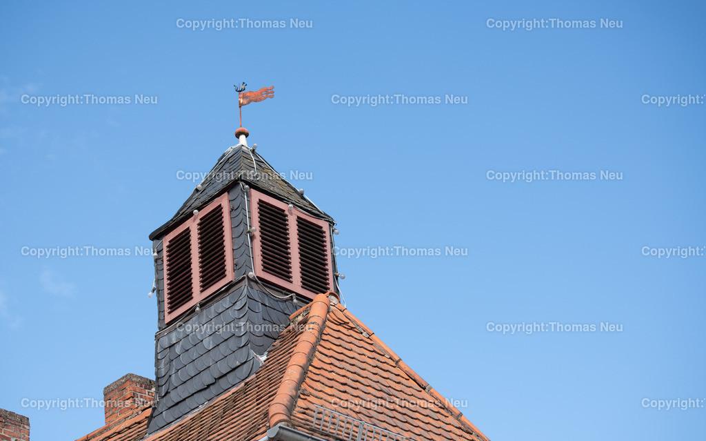 DSC_0397 | Lautertal, Elmshausen, Altes historisches Rathaus, Wetterfahne, ,, Bild: Thomas Neu