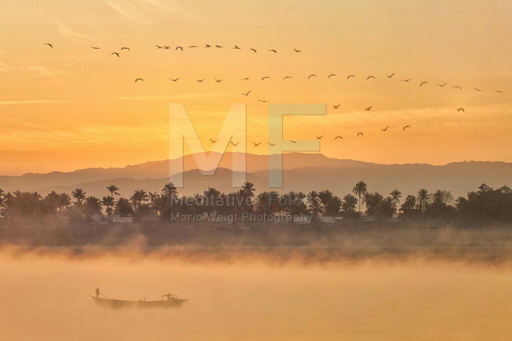 MW1010-0533 | Morgenstimmung am Irrawaddy
